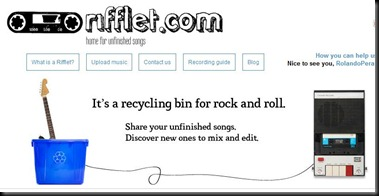 rifflet screenshot