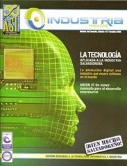 Industria Magazine Oct 2009 cover small