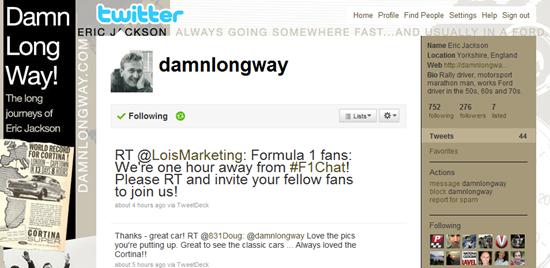 damnlongway twitter profile