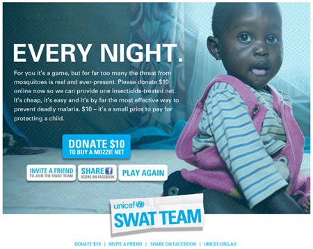 unicef swat game