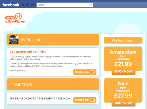easyjet holiday planner