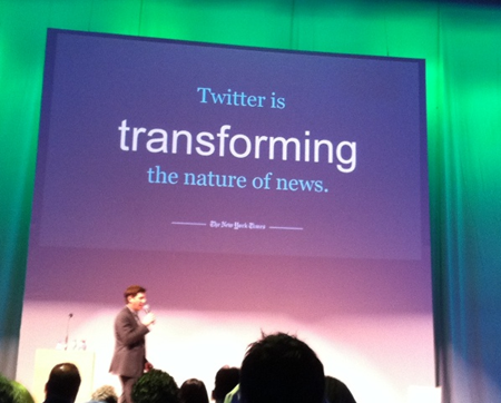 twitter is transforming news