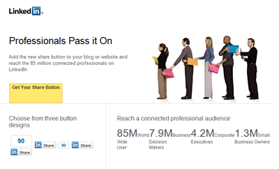 linkedin mail stats dec 2010