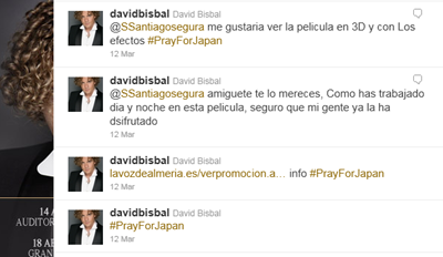 bisbal tweets
