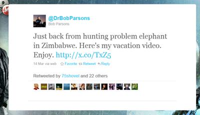 bobparsons elephant tweet
