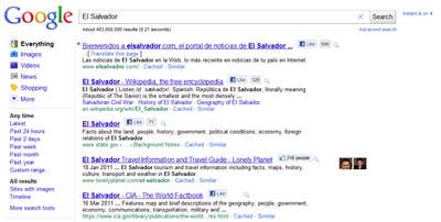 google plus like